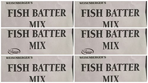 Fish Batter Mix Weisenberger Mills - A Ky Proud Product 5.5 Ounce Pack of 6 by Weisenberger Mills