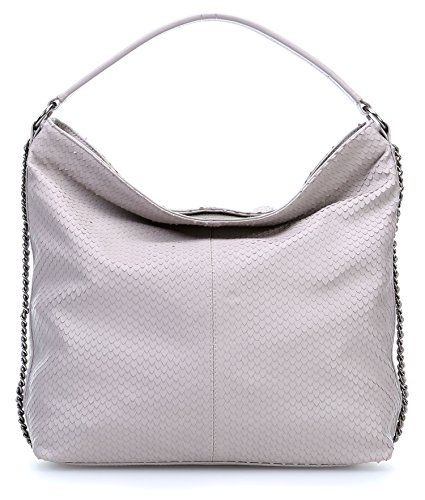 George Gina & Lucy Great Day Borsa hobo grigio
