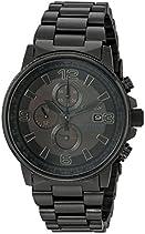 Citizen Men's CA0295-58E Eco-Drive Nighthawk Stainless Steel Watch