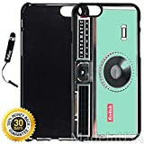 Custom iPhone 6 Plus/6S Plus Case (Kodak Instamatic Mint) Edge-to-Edge Plastic Black Cover with Shock and Scratch Protection | Lightweight, Ultra-Slim | Includes Stylus Pen by INNOSUB
