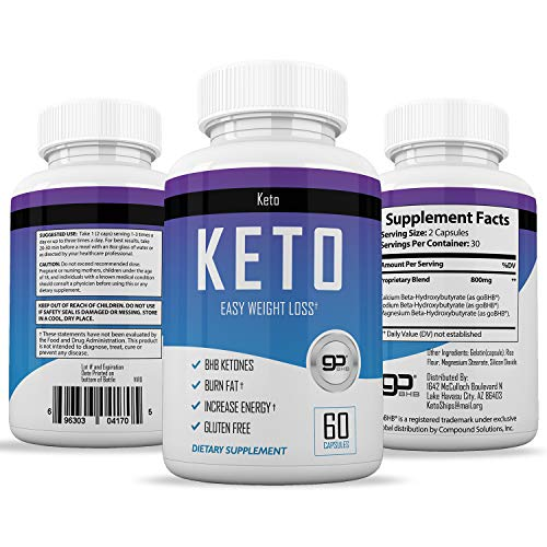 Keto Pills from Shark Tank - Weight Loss Supplement - Best Keto Diet Pills - Burns Fat Fast by Scottsdale's Vitamins (Image #3)