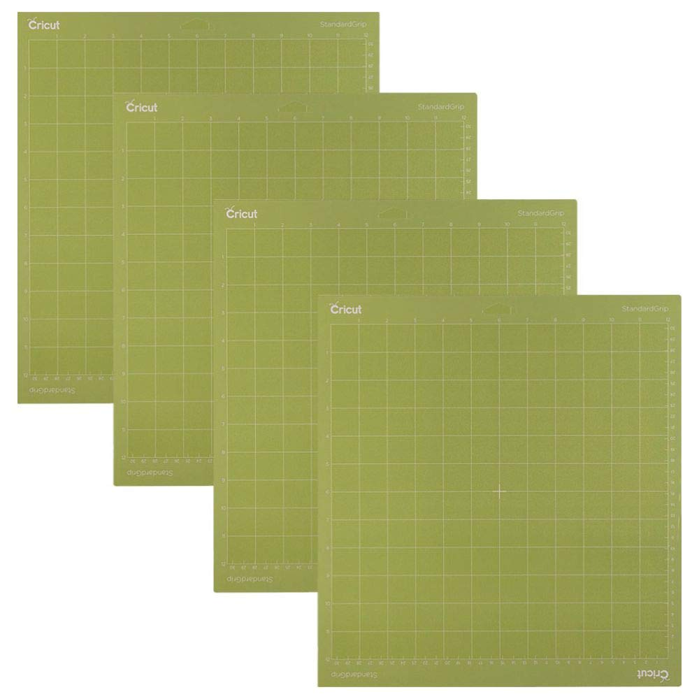 Cricut 12x12 Standardgrip Adhesive Cutting Mats | 4 Pack