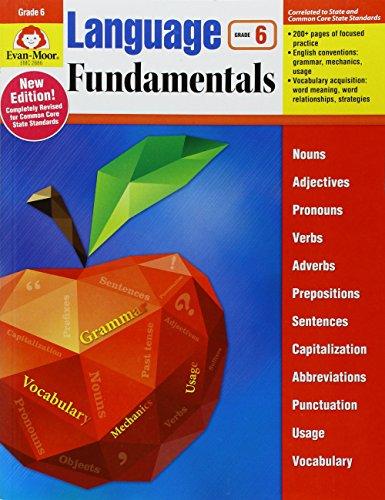 Language Fundamentals, Grade 6 by EVAN-MOOR