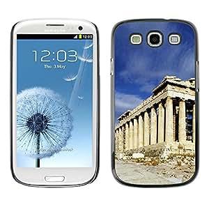 LASTONE PHONE CASE / Carcasa Funda Prima Delgada SLIM Casa Carcasa Funda Case Bandera Cover Armor Shell para Samsung Galaxy S3 I9300 / Architecture Ancient Rome Building