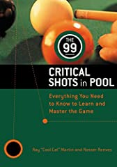 """World Champion Pool Player Ray """"Cool Cat"""" Martin shares his secrets for playing winner's pool in this classic book, which includes an introduction by the author. Written with co-author Rosser Reeves, The 99 Critical Shots in Pool remains one ..."""