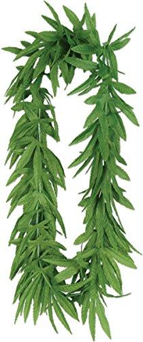 Fern Costume Ideas (Beistle (107L-50455-12) Tropical Fern Leaf Lei 40 Inch, 12 per Pack)