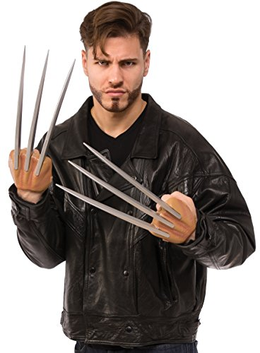 Classic Wolverine Costume (Rubie's Costume Co Men's X Classic Better Wolverine Claws, Multi, One)