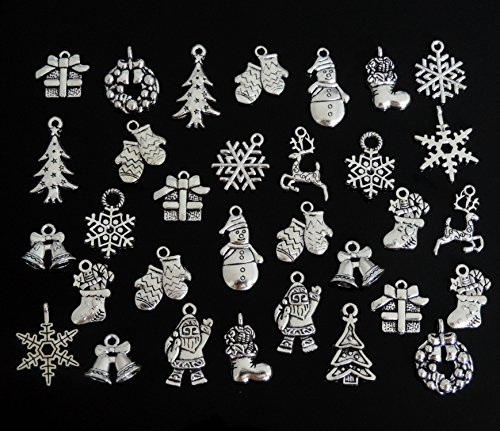Christmas Snowflake Charm - 6