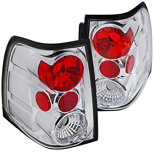 Spec-D Tuning LT-EPED03-TM Spec-D Altezza Tail Light Chrome
