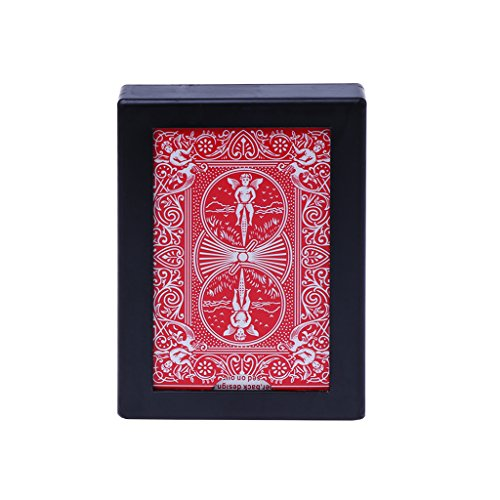 Fmingd New Disappearing Vanishing Poker Card Case Close Up Magic Trick Toy Easy to ()
