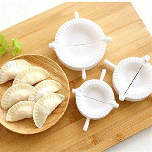 2.75' Stars (GreatFun 3pcs Premium Dumpling Pie Ravioli Making Mold Mould Kitchen Cooking Tool)