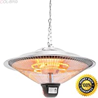 COLIBROX--20 Electric Patio Infrared Outdoor Ceiling Heater Indoor Hanging Garden remote. electric infrared patio heaters. patio heater amazon. best electric garage heater. electric shop heater.