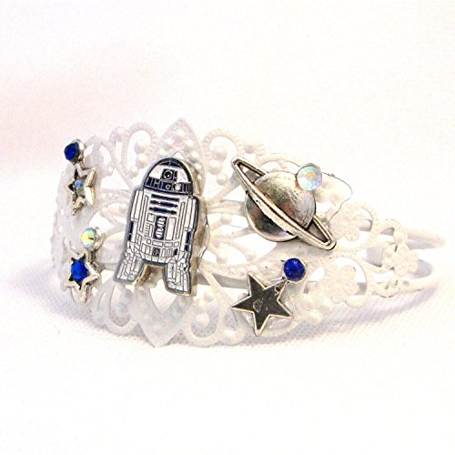 [Beep Beep! Droid Cuff Bracelet Sci Fi Fandom Gift] (Fandom Halloween Costumes)