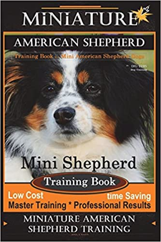 Miniature American Shepherd Training Book for Mini American