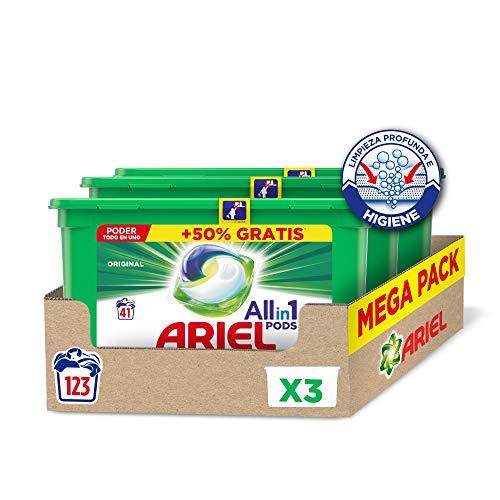 🥇 Ariel Allin1 Pods Original – Detergente en cápsulas para la lavadora