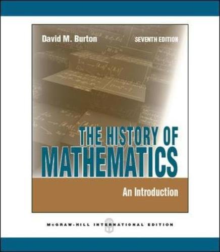 Read Online History of Mathematics: An Introduction ebook