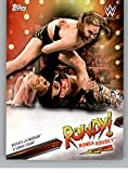 2019 Topps WWE Smackdown Live Ronda Rousey