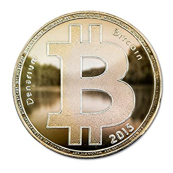 Denarium Gold Plated Physical Bitcoin Empty Unfunded