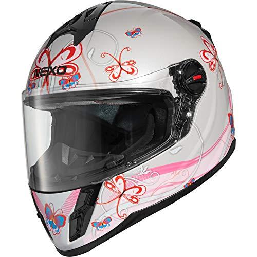 Nexo Integralhelm Motorradhelm Helm Motorrad Mopedhelm Junior III 2.0, Kinder-Motorradhelm für Jungen und Mädchen…