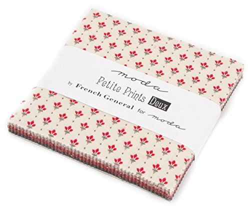 Petite Prints Deux Charm Pack By French General; 42-5