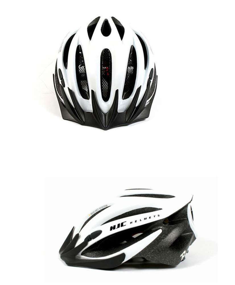 (エイチジェイシー) HJC R4自転車用ヘルメットボーランドジェットboland zet (並行輸入品)  WHITE LINE B07QY76SRL
