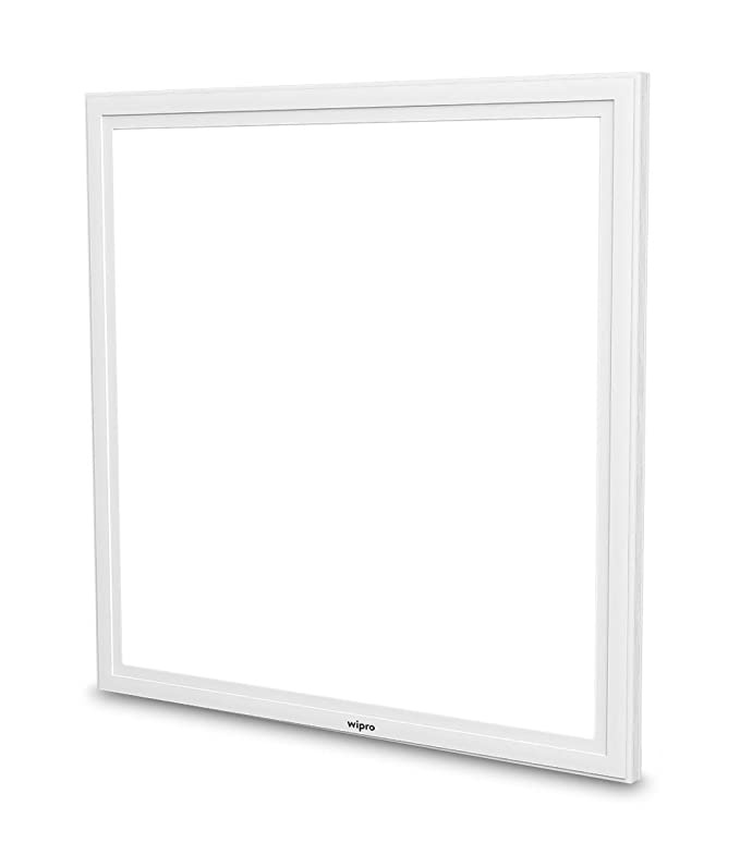 Wipro Garnet 40-Watt Slim Panel Light (Cool Day Light, White, Square) Lighting Fixtures at amazon
