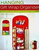 Walmart Best Deals - Holiday Hanging Gift Wrap Organizer, Suspends From Any Closet Rod or Hook, Multiple Clear Pockets by Walmart