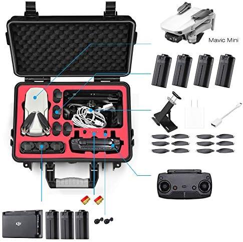 Lekufee Étui de transport étanche pour DJI Mavic Mini Drone et autres accessoires Mavic Mini