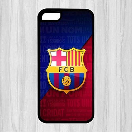 Funda para iPhone 5 C caso FC Barcelona Logo imagen Case-iPhone 5 C carcasa rígida protección contra caídas para mujer regalo: Amazon.es: Electrónica