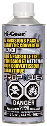 Hi-Gear HG3270c EZ Emissions Pass & Catalytic Converter Cleaner, 15 fl. oz.