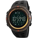 MODIWEN Men's Smart Watch Digital Sports Watches Fashion Waterproof Watches Pedometer for Android and IOS Smartphone