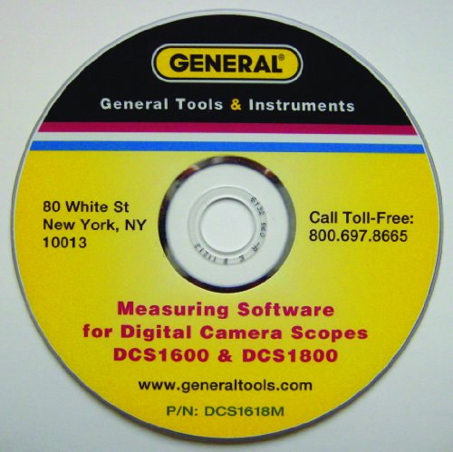 General Tools DCS1618M Click Measure Software and Measuring Tip for DCS1800 and DCS1600 by General Tools