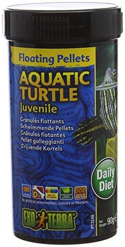Exo Terra Juvenile Aquatic Turtle Food, 3.1-Ounce