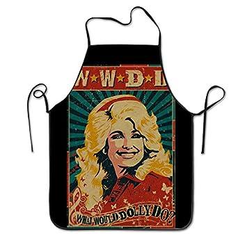 102d095e0460c Image Unavailable. Image not available for. Color  Bib Kitchen Apron Dolly  Parton ...