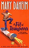 Front cover for the book A Fit of Tempera by Mary Daheim