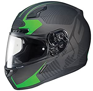 HJC CL-17 Mission Full-Face Motorcycle Helmet (MC-4F, X-Large)