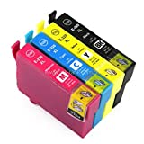 4 Pack - Remanufactured Ink Cartridges for Epson #220XL T220XL 220 T220XL120 T220XL220 T220XL320 T220XL420 Inkjet Cartridge Compatible With Epson Expression Home XP-320 Small-in-One Expression Home XP-420 Small-in-One Expression Home XP-424 Small-in-One WorkForce WF-2630 WorkForce WF-2650 WorkForce WF-2660 (1 Black, 1 Cyan, 1 Magenta, 1 Yellow) Ink & Toner 4 You ®