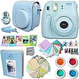 FujiFilm Instax Mini 8 Camera BLUE + Accessories KIT for Fujifilm Instax Mini 8 Camera includes:...