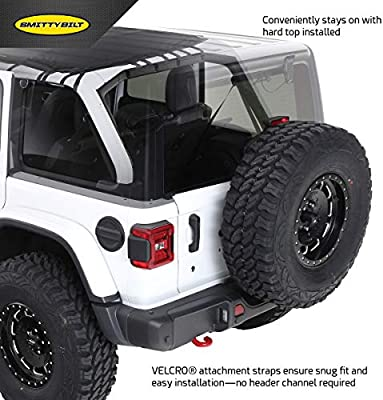 Jeep Wrangler JL 4-Door Smittybilt 97500 Extended Shade Top with Skylights for 2018