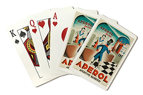 Italy - Aperol - (artist: Piquillo c. 1931) - Vintage Advertisement (Playing Card Deck - 52 Card Poker Size with Jokers) by Lantern Press