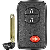 QualityKeylessPlus Replacement Virgin Toyota Highlander Prox Smart Key Remote for Keyless Entry FCC ID: HYQ14AAB