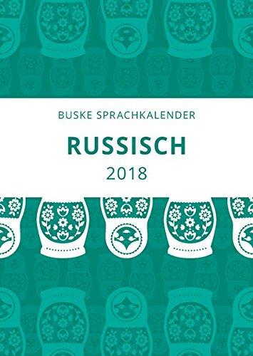 Sprachkalender Russisch 2018