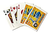 Lambretta Li150 Vintage Poster Italy (Playing Card Deck - 52 Card Poker Size with Jokers)