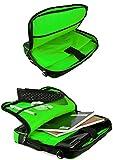VanGoddy Green Trim Laptop Messenger Bag for ASUS