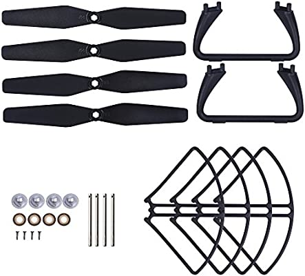 Holy Stone Spare Parts Crash Pack Accessories Kits for Holy Stone HS110G Drone Quadcopter