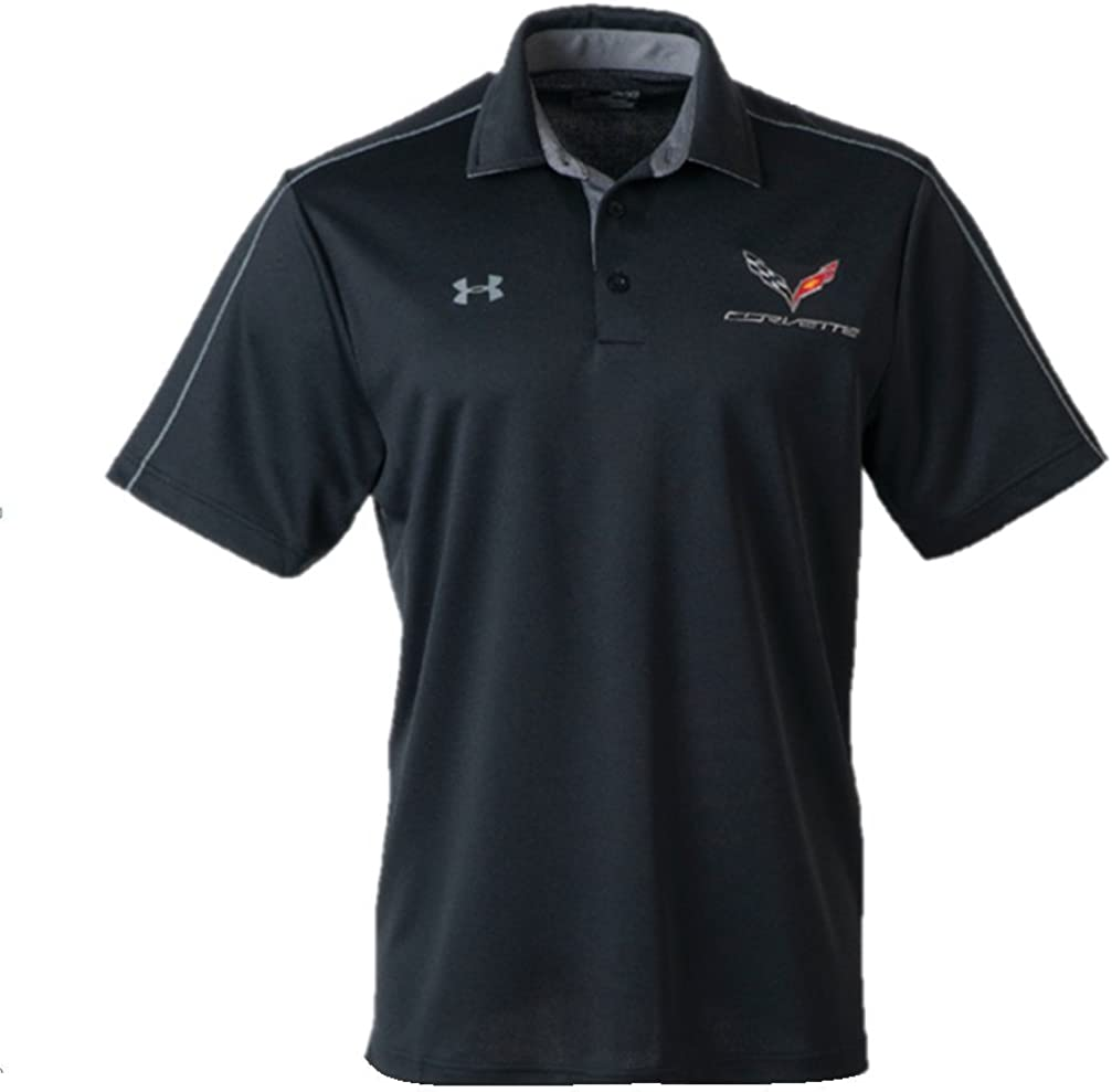 C7 Corvette Men's Under Armour Tech Polo Shirt