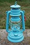 Feuerhand Galvanized Lantern - Pastel Green