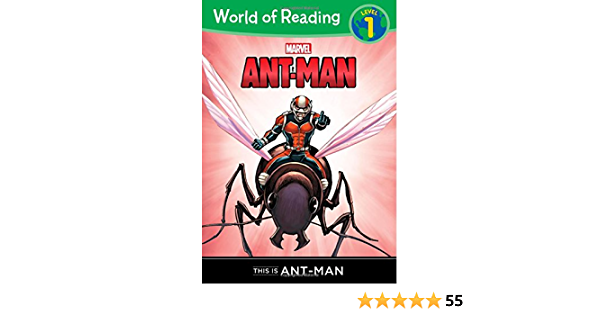 Ant-Man: This Is Ant-Man World of Reading, Level 1: Ant-Man ...