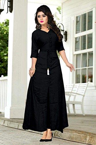 para en con Vestido Amit color negro estilo mujer Fashions nqv4n0AwxS