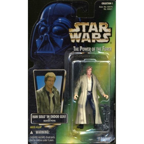 Star Wars (STAR ??WARS) THE POWER OF THE FORCE Han Solo in Endor Gear ()